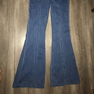 Brand new express boot cut jeans